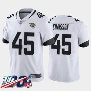 Jacksonville Jaguars K'Lavon Chaisson White Jersey